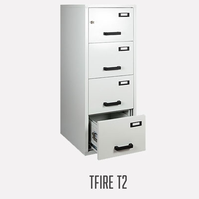 Armoire ignifuge à tiroirs TFIRE 60