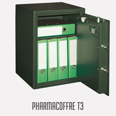 Coffre-fort PHARMACOFFRE