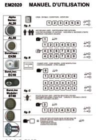 Notice serrure coffre-fort Hexacoffre EM 2020